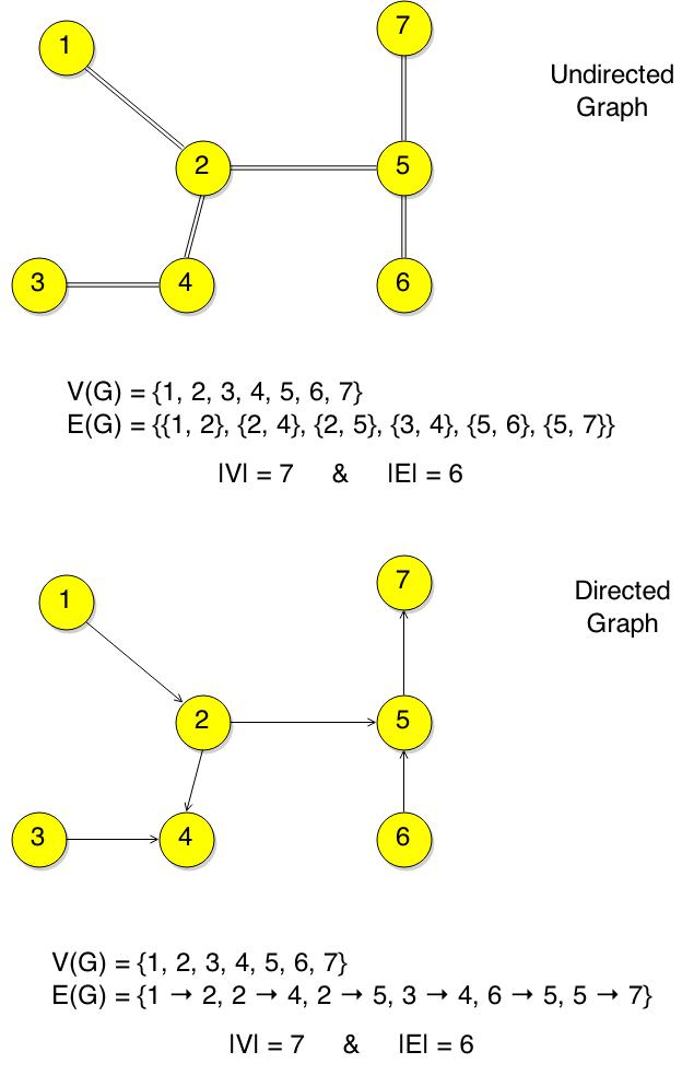 Undirected and Directed Graph